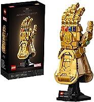 LEGO 76191 Marvel Infinity Gauntlet Set Voor Volwassenen, Avengers Bouwset met Thanos Handschoen