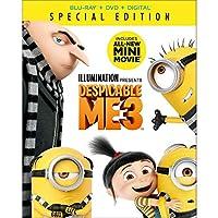 怪盗グルー3 DVD+ブルーレイスティーブ・カレル