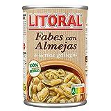 Litoral Fabes con Almejas. Plato Cocinado - 440 gr - [paquete de 2]