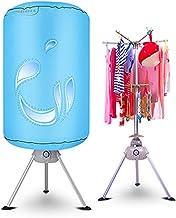 ZDLING Mute secador de secador de ventilación Circulares un secador portátil de casa con un secador de bastidores Calentador