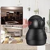 Seguridad para el hogar CCTV, WiFi Babycam, Cámara de vigilancia bidireccional Tableta Teléfono móvil para el hogar para cámara Interior(European regulations, Transl)