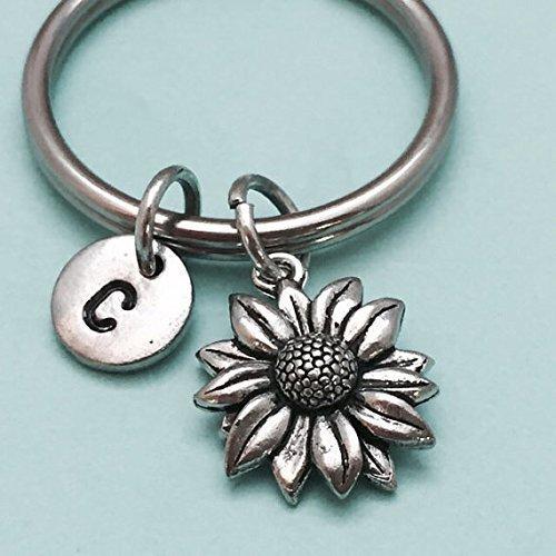 Cute sunflower keychain