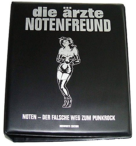 Die Ärzte - Notenfreund - Noten - Der Falsche Weg Zum Punkrock: Buch, Poster für Gitarre