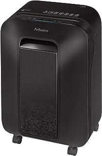 2020年モデル フェローズ シュレッダー 家庭用 電動 12枚細断 マイクロカット 上質なデザインにスマート機能搭載 ブラック LX201 5180001