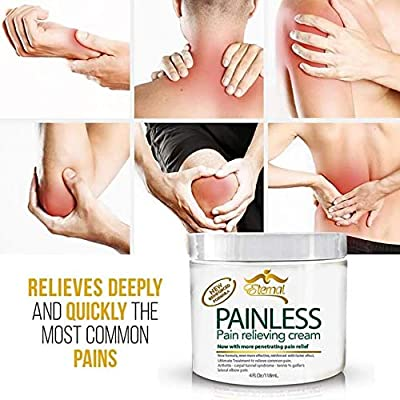 Painless - Pain Relieving cream for Arthritis, Muscle Pains, Carpal Tunnel & more! (Original Version) from World Wide Cosmetics, Inc.