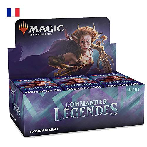 Magic: The Gathering- Boîte de boosters de Draft Commander Légendes