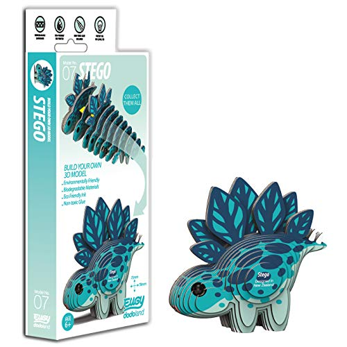 EUGY 3D Mermaid Model Craft Kit Multi-Colour