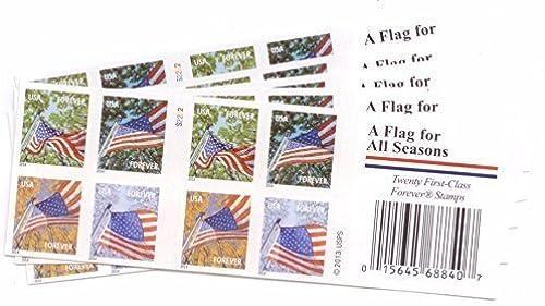 suministro de productos de calidad USPS Flags Flags Flags for All Seasons Forever Stamps 100 Stamps (5 books of 20) by USPS  Para tu estilo de juego a los precios más baratos.
