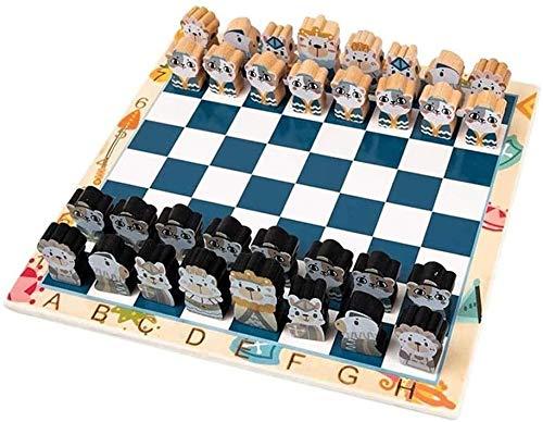 ZOUJUN Schach, Gewicht Tournament Chess Game Set - Schach-Brettspiel Internationale Schachfiguren komplette Schachfiguren Set Intellectual Kinderspielzeug logisches Denken