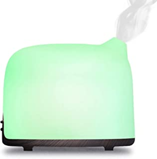 Sunfuny Aroma Essential Oil Diffuser, Oil Air Purifier Cleaner, 300ml Ultrasonic, Cool Mist Air Humidifier, Auto-Off Safet...
