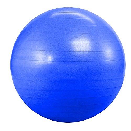 Yoga Direct Anti Burst & Slow Leak Deluxe Ball (Blue, 55 cm)