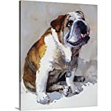 english bull dogs artwork