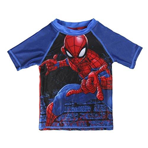 Camiseta baño Spiderman T.5
