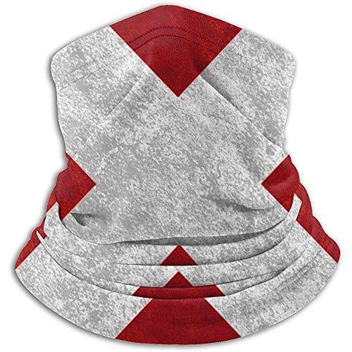 Bandera de Suiza Grupo Calentador de Cuello Polaina Pasamontañas Máscara de esquí Clima frío Mascarilla Sombreros de Invierno Sombreros para Hombres Mujeres Negro