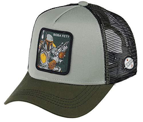 Capslab Boba Fett Trucker Cap Star Wars Grey - One-Size
