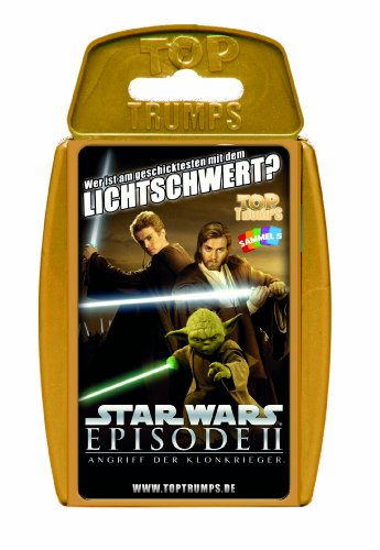 Winning Moves 61571 Top Trumps - Star Wars Episode II, Kartenspiel