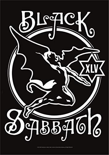 BLACK SABBATH FLAGGE FAHNE POSTERFLAGGE 45th ANNIVERSARY