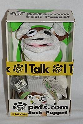Talking Pets.Com Sock Puppet from Fun 4 All