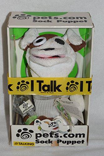 Talking Pets.Com Sock Puppet