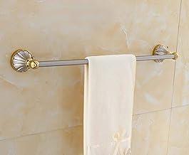 MBYW moderne minimalistische hoge dragende handdoek rek badkamer handdoekenrek Vergulde nikkel handdoek rek handdoekrek/en...