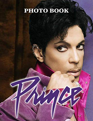 Prince Photo Book: Prince Great Gift 20 Unique Image Book Books For Adults, Boys, Girls (Book For Adults & Teens)