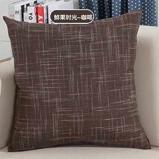 YYBF Sólido sofá Cintura cojín Almohada Decorada Tirante Almohada para el hogar 450 mm x 450 mm 03