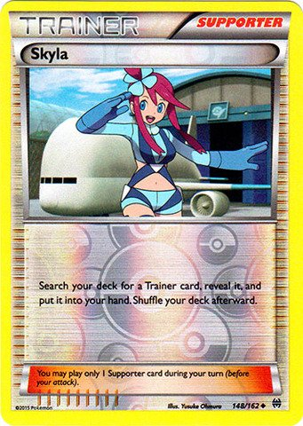 Pokemon - Skyla (148/162) - XY Breakthrough - Reverse Holo