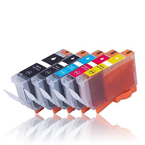 Cenado Reinigungspatronen Set für CANON PIXMA IP4840 IP4850 IP4900 IP4950 IX6250 IX6550 MG5100 MG5140 MG5150 MG5200 MG5240 MG5250 MG5300 MG5340 MG5350 MX710 MX715 MX884 MX885 MX890 MX895 etc. mit Chip, kompatibel zu CANON PGI525 CLI526