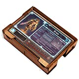 Smonex Wooden Character Box and Player Tray Compatible with Gloomhaven Board Game - Gaming Organization, Storage and Saving Game Results with Player Board