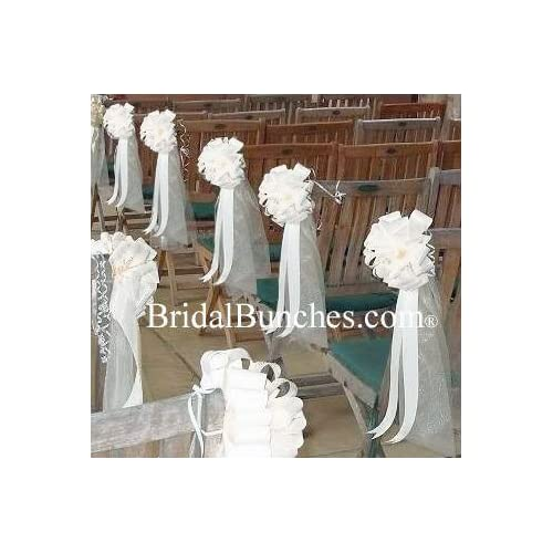 Wedding Pew Decorations Amazon Com