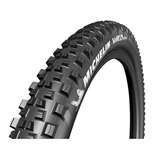 Michelin Unisex– Erwachsene Wild AM Competition faltbar Fahrradreife, schwarz, 29x2.50