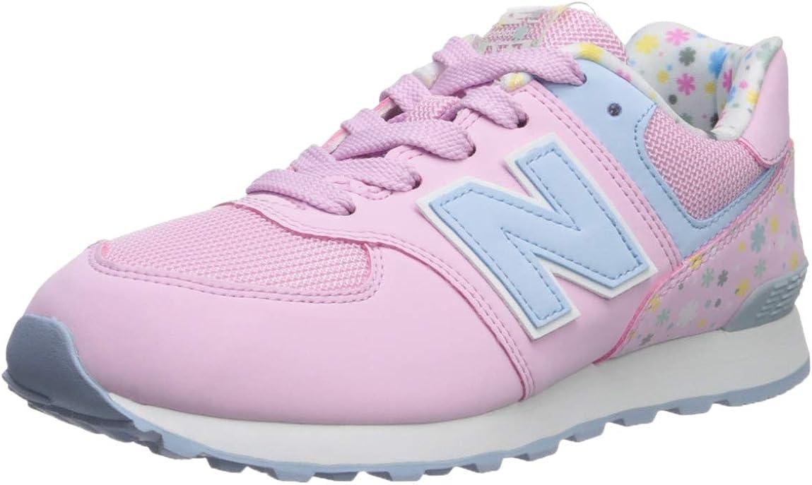 New Balance Unisex-Child Girl's 574v1 Lace-up Sneaker