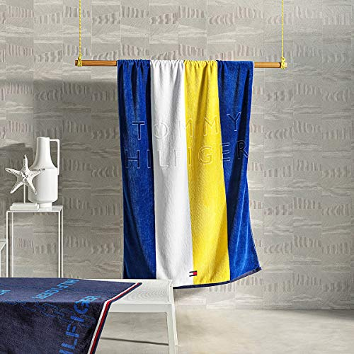 Tommy Hilfiger strandlaken Nautical Spirit Yellow 90x170 cm