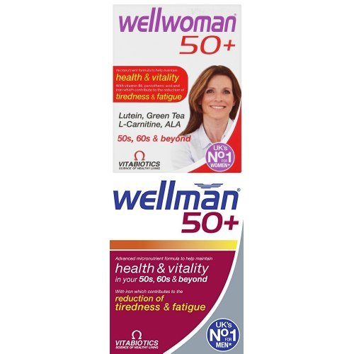 Wellwoman 50+, 30 Tablets and Wellman 50+, 30 Tablets Bundle