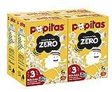 Popitas Zero Pack 3. caja 4u.   Palomitas de Maíz para Microondas