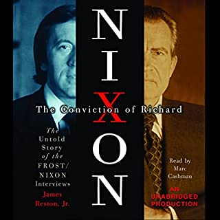 The Conviction of Richard Nixon audiobook cover art
