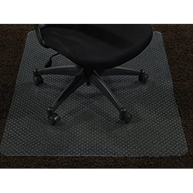 Ottomanson Carpet Chair 30 X48  Plastic Mat Protector, 30  x 48 , Clear