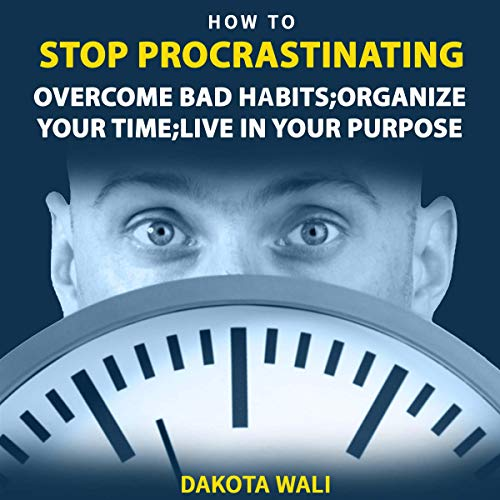 How to Stop Procrastinating  By  cover art