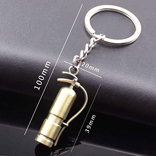 CHENSHUANG Schlüsselbund Schlüsselbund Geschenk Metall hängen Schlüsselring Feuerlöscher Form Legierung