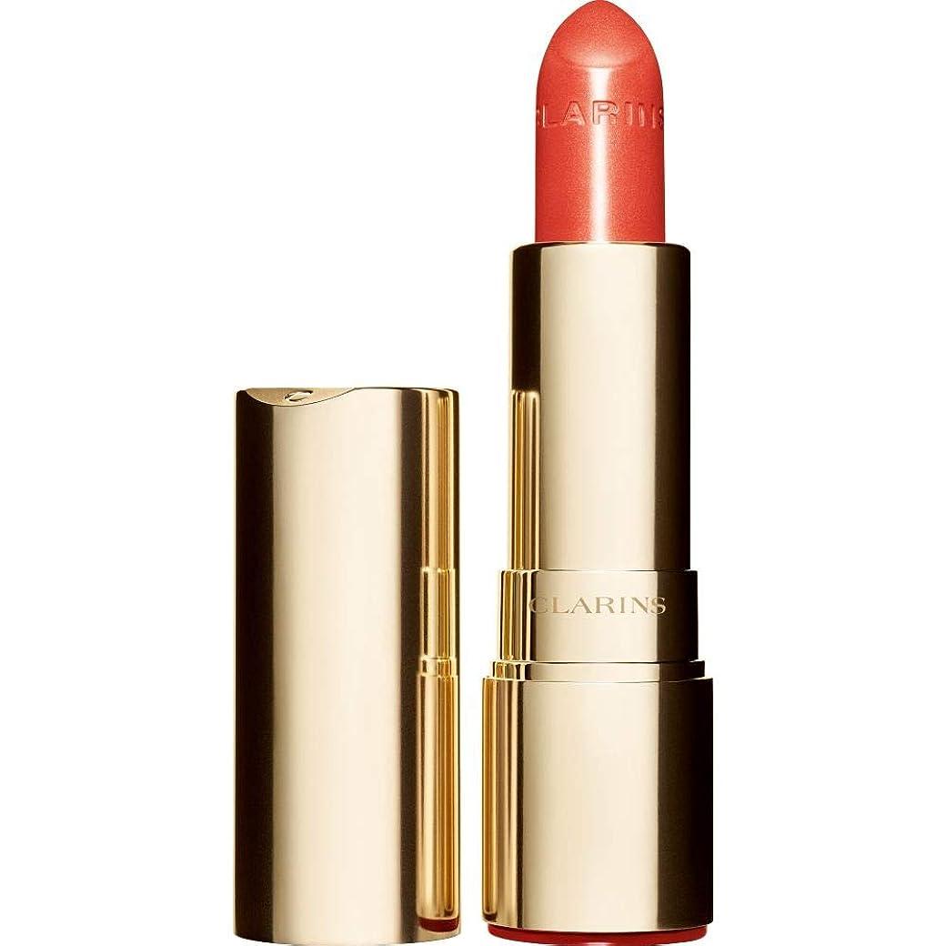 傭兵おなじみの尾[Clarins ] クラランスジョリルージュブリリアント口紅3.5グラムの711S - パパイヤ - Clarins Joli Rouge Brillant Lipstick 3.5g 711S - Papaya [並行輸入品]