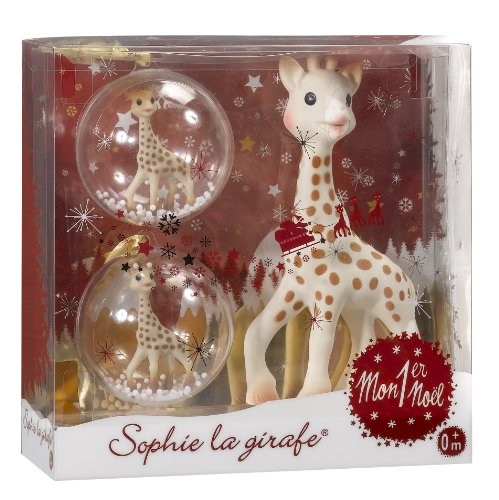 Best Deals! Sophie la Girafe My First Christmas Teether Gift Set