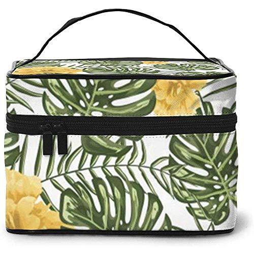 Sfondo Di Pattern Di Portable Ladies Travel Cosmetic Case Bag Storage Makeup Pouch Multi-Function Wash Large Capacity Makeup Bag