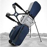 LANGWEI Bolsas De Soporte De Golf para Hombres, Bolsa De Pistola con Soporte De Golf Impermeable | Bolsa De Golf Ligera Mochila Fácil De Llevar con...