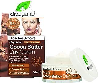 DR ORGANIC Day Cream Organic Cocoa Butter, 50 Milliliter