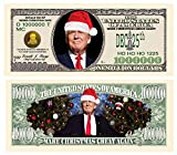 Donald Trump Christmas Million Dollar Bill - Put Christ Back in Christmas - Commemorative Collectors Edition. Stunning Keepsake in Currency Holder. Make Christmas Great Again. Toy, Prank, Gag Gift