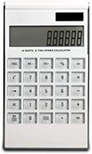 $39 » Calculator Solar Energy Dual Power high tech LCD Display Finance Office Desktop Calculator Accounting only 12 Digits (A)