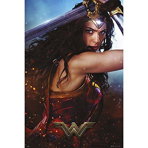Grupo Erik Editores Poster Wonder Woman Sword