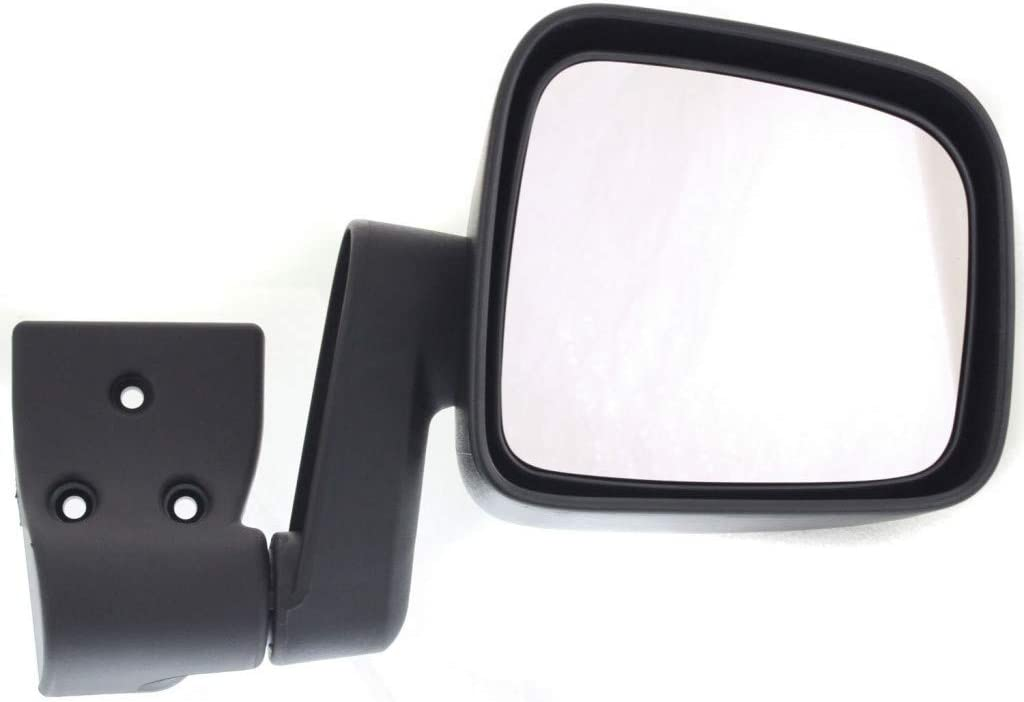 For Jeep Wrangler online shop Mirror 2003 A surprise price is realized 04 2006 Manual Side 05 Driver Fold
