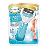 Amope Pedi Perfect Electronic Dry Foot File (Blue), Regular Coarse Roller Head with Diamond Crystals for Feet, Removes Hard and Dead Skin  1 Count