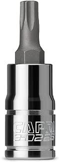 Capri Tools T25 Star Bit Socket, 1/4